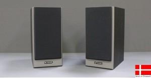 Silver Line 350 sort Kompakt højttaler