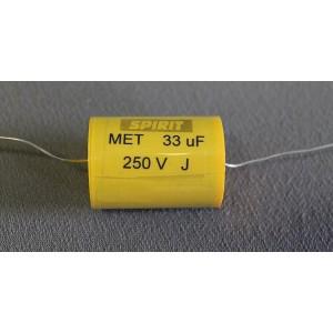 33 uF MET kondensator