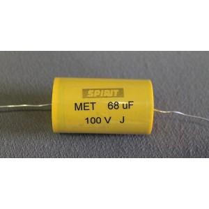 68 uF MET kondensator