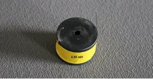 Spole 0,68 mH m/kerne