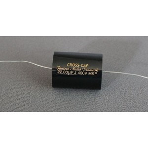 22 uF Cross-Cap MKP kondensator